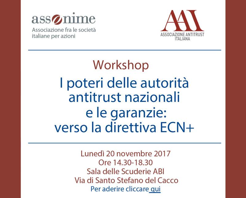 I poteri delle autorità antitrust nazionali e le garanzie: verso la direttiva ECN+