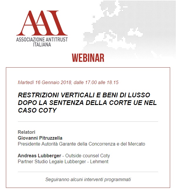 Restrizioni verticali e beni di lusso dopo la sentenza della corte UE nel caso Coty